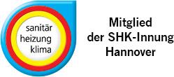 Wir sind Mitglied bei: SHK-Innung Hannover